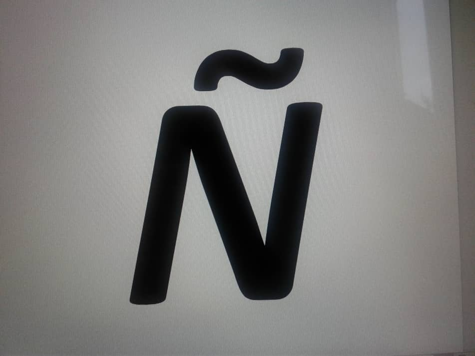 how to write the n in spanish